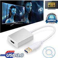 USB 3.0 a HDMI HD 1080P Video Cable Adaptador Convertidor para PC Laptop HDTV AH150