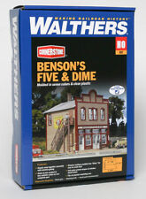 Walthers Cornerstone HO Benson's Five and Dime Building Kit 933-3661