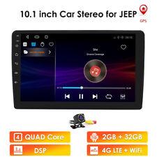 For Jeep Wrangler Compass Patriot Car MP5 Radio Stereo Mirrors-GPS+Backup Camera