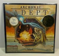 Vintage Archon II Adept Disk by Electronic Arts for Apple 64k Brand New Unopened