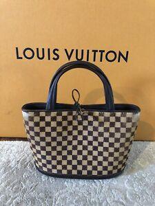 Authentic LOUIS VUITTON Impala Damier Sauvage Leather Brown Tote Bag-RARE-$2800