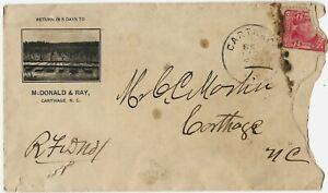 McDonald & Ray, Carthage, North Carolina, ca. 1908