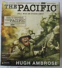 THE PACIFIC - HUGH AMBROSE - 19-CD AUDIOBOOK  - BRAND NEW