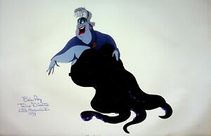 THE LITTLE MERMAID Signed BRIAN RAY Production URSULA Color Model Stat #RB
