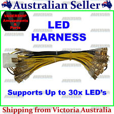 New: Harness for LED Buttons ~ With Molex Connector, upto 30x LEDs Arcade /Mame