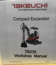 Takeuchi Tb230 Service Manual