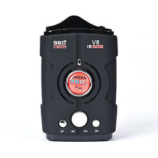 360° Degree Detection Voice Alert Car Anti Radar Detector For Car Speed Limited