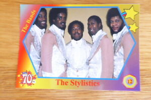 THE STYLISTICS  THE BANDS 1970's CARD # 12  2020