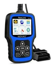 NEXAS NL101 OBD2 Scanner Check Engine Light with Battery Test Car Code Reader...