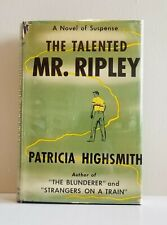 First Edition~ The Talented Mr. Ripley by Patricia Highsmith 1955 1st Printing