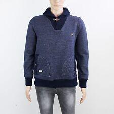 Voi Mens Size M L Blue Pullover Sweatshirt