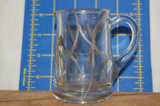 Vintage Art Deco Sterling Silver Overlay Syrup Pitcher - Vintage - 3 1/2 inches