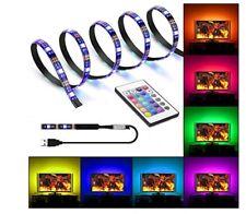 2M LED Strip USB LED Strip for Background TV Decoration, USB Light Strip USB LED