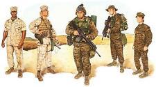 United States Marine Corps Combat Utility Uniform 2003 MARPAT 12x8 Inch Print