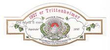 KITZINGEN W. Meuschel jr. 1927er TRITTENHEIM er WeinEtikett wine label x2635