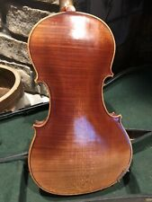 JACOBUS STAINER COPY GERMAN 4/4 VIOLIN WITH ONE PIECE FLAMED BACK AND RIBS