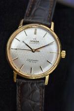 Reloj Omega automatc Seamaster Deville  oro 18k ;gold .750 watch