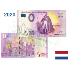 Billet Touristique Euro Souvenir '' Monarchs Netherlands Willem I '' 2020