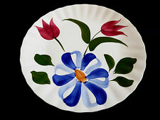 "Blue Ridge Southern Potteries 9.25"" plate floral tullip pattern"