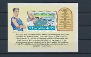 LN23332 Solomon Islands roviana lagoon good sheet MNH