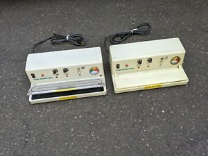 LOT OF (2) VacMaster SVP-5 Commercial Chamber Vacuum Sealers READ