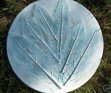 Plaster concrete  leaf impression heavy duty abs plastic mold