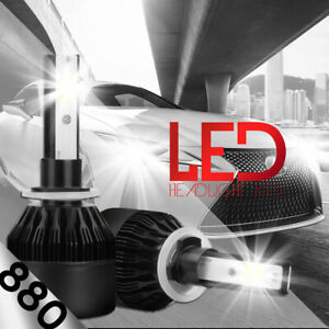 XENTEC LED HID Foglight Conversion kit 881 6000K for Buick Electra 1989-1989