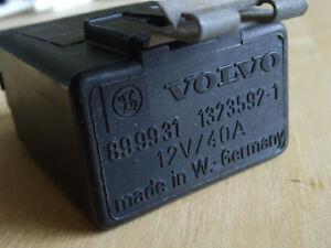 Cooling Fan Fuel Pump Radio Noise Suppression RELAY 1323592-1 VOLVO Bertone 780