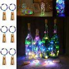 LED Lichterkette TIMER Flaschenbeleuchtung DewDrops Flaschenlicht Deko DIY Mini