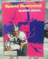 1971 Sports Illustrated January 18 Football Super Bowl Cowboys and Colts