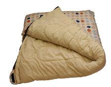 Sleeping Bag King Size Dots 52ozs Polymicro Hollowfibre Caravan Duvet