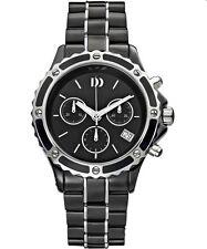Danish Design IV63Q961 Ceramic/Stainless Steel Chronograph Quartz Women's Watch