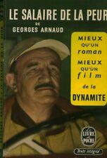 Livre de poche le salaire de la peur Georges Arnaud  book