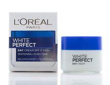 20ml L'OREAL PARIS WHITE PERFECT FACE DAY CREAM SPF 17 PA++ WHITENING EVEN TONE