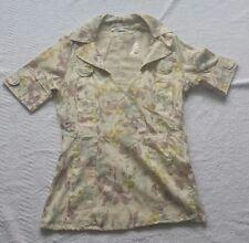 Women's VILA CLOTHES  blouse top beige  size XS /S  BNWOT