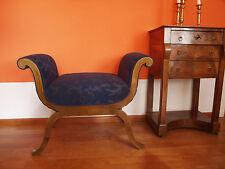 Biedermeier Gondelhocker  - Sessel, um 1820