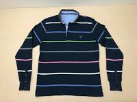 Gant Jumper Sweater Mens ~ Size Medium - Large ~ Great Cond Colorful Stripes