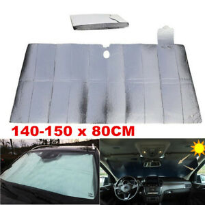 Auto Car Sun Shade Foldable Sun Visor Fit For Front Wind Shield UV Protection