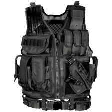 Military Vest Gear Swat Law Enforcement Holster Belt Tactical Storing Hunting