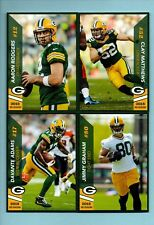 NEW 2018 Green Bay Packers Police TEAM SET - Aaron Rodgers Matthews Adams Graham