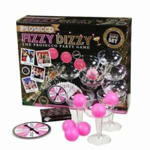 Prosecco Valentines Day Beer Pong Game Fizzy Dizzy Alcohol Shots Adult Drinking