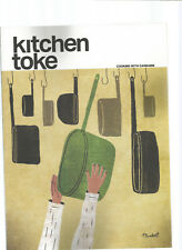 KITCHEN TOKE MAGAZINE COOKING WITH CANNABIS VOLUME 1 ISSUE 1 2017