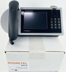 ShoreTel 655 Gigabit IP Phone (10429) - Refurbished - Bulk