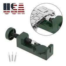 Metal Adjustable Watch Band Strap Bracelet Link Pin Remover Repair Tool Kit US
