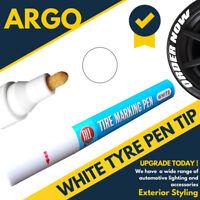White Tyre Permanent Marker Pen Paint Waterproof Wheel Rubber Tire Tread Letters