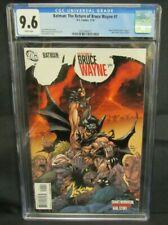Batman: The Return of Bruce Wayne #1 (2010) Andy Kubert Cover CGC 9.6 Z114