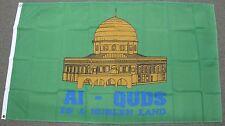 3X5 MUSLIM FLAG AL-QUDS IS A MUSLEN LAND BANNER F522