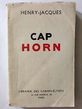 CAP HORN 1935 HENRY JACQUES