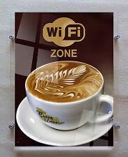 Acrylic Wall Poster Display - Easy Access A3 Pocket