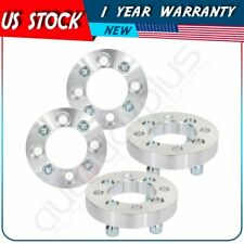 "1"" 4x108 to 4x100 12x1.5 studs silver 4 pcs wheel spacers for Ford Fiesta 02-17"